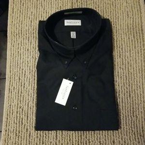 Van Heusen l/s nailhead pinpoint dress shirt